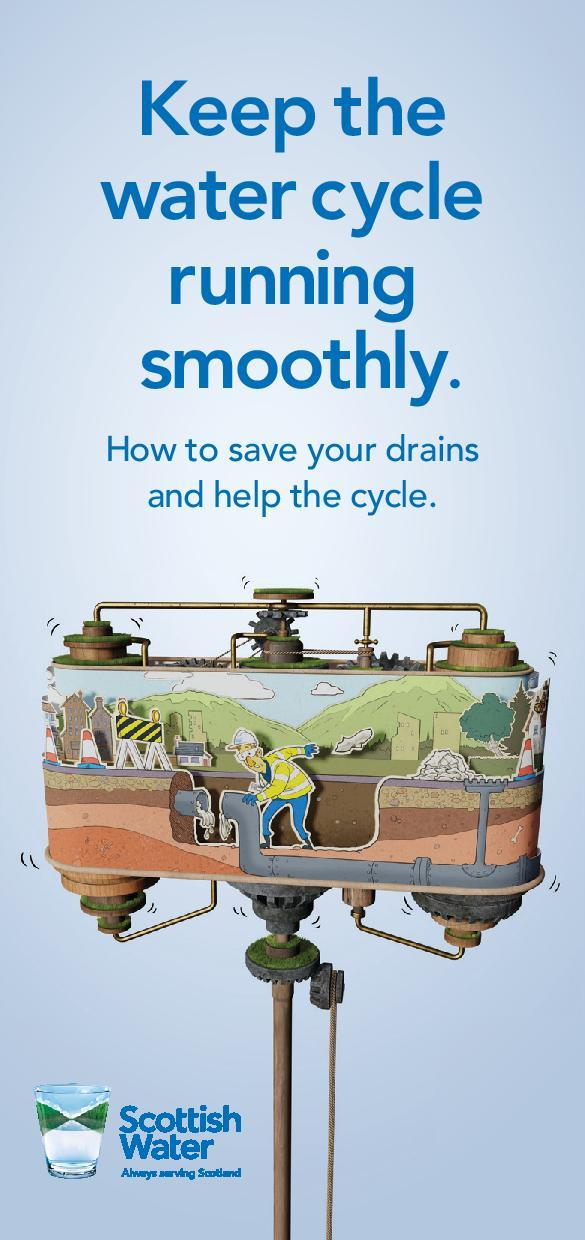 Scottish Water Poster